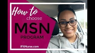 How to choose MSN Nurse Practitioner Program
