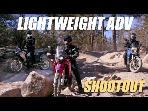 2017 Lightweight ADV Shootout