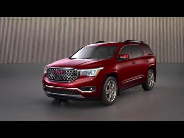 All-New 2017 GMC Acadia Denali