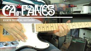 """Como Tocar """"Viento"""" De Caifanes - Tutorial Guitarra + TAB (HD)"""