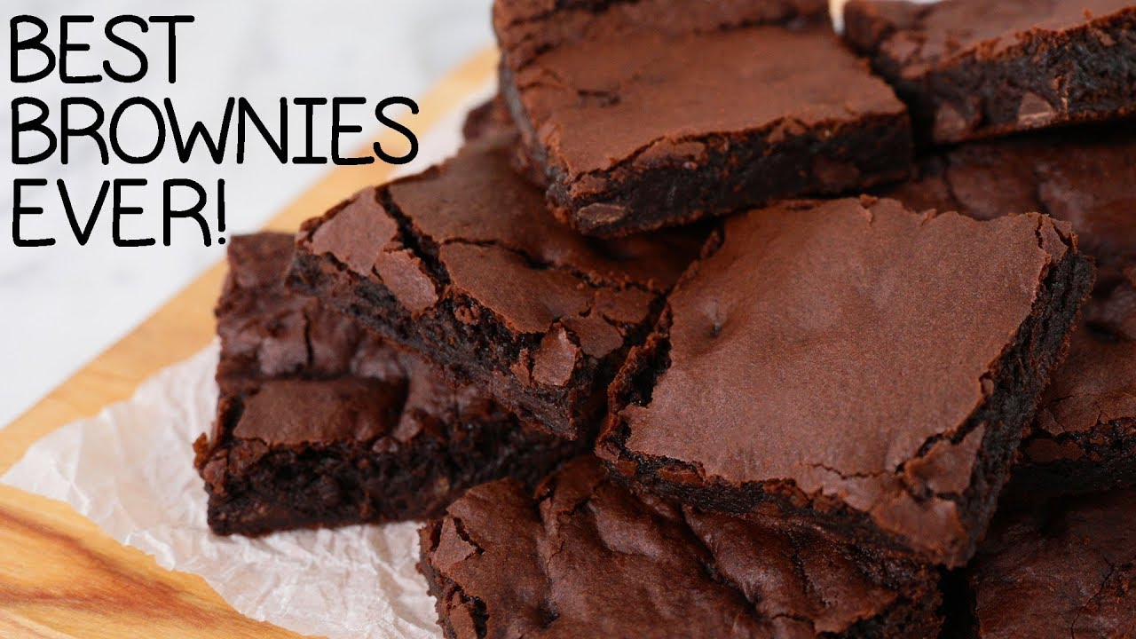 The Best Brownie Recipe EVER! (vegan!) thumbnail