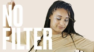 Five People Try Rihanna's Fenty Beauty's Limited-Edition Silver Highlighter   No Filter   ELLE
