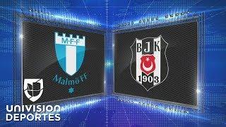 Malmo 2-0 Besiktas - GOLES Y RESUMEN - Grupo I UEFA Europa League