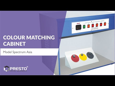 Colour Matching Cabinet - CMC - Asia