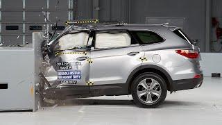 [IIHS] 2015 Santa Fe small overlap IIHS crash test