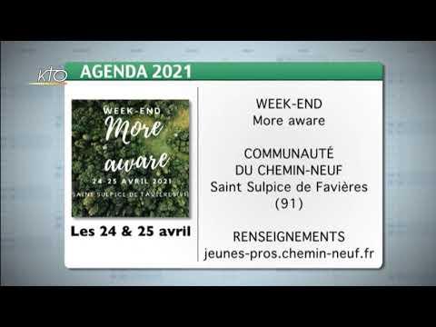 Agenda du 29 mars 2021