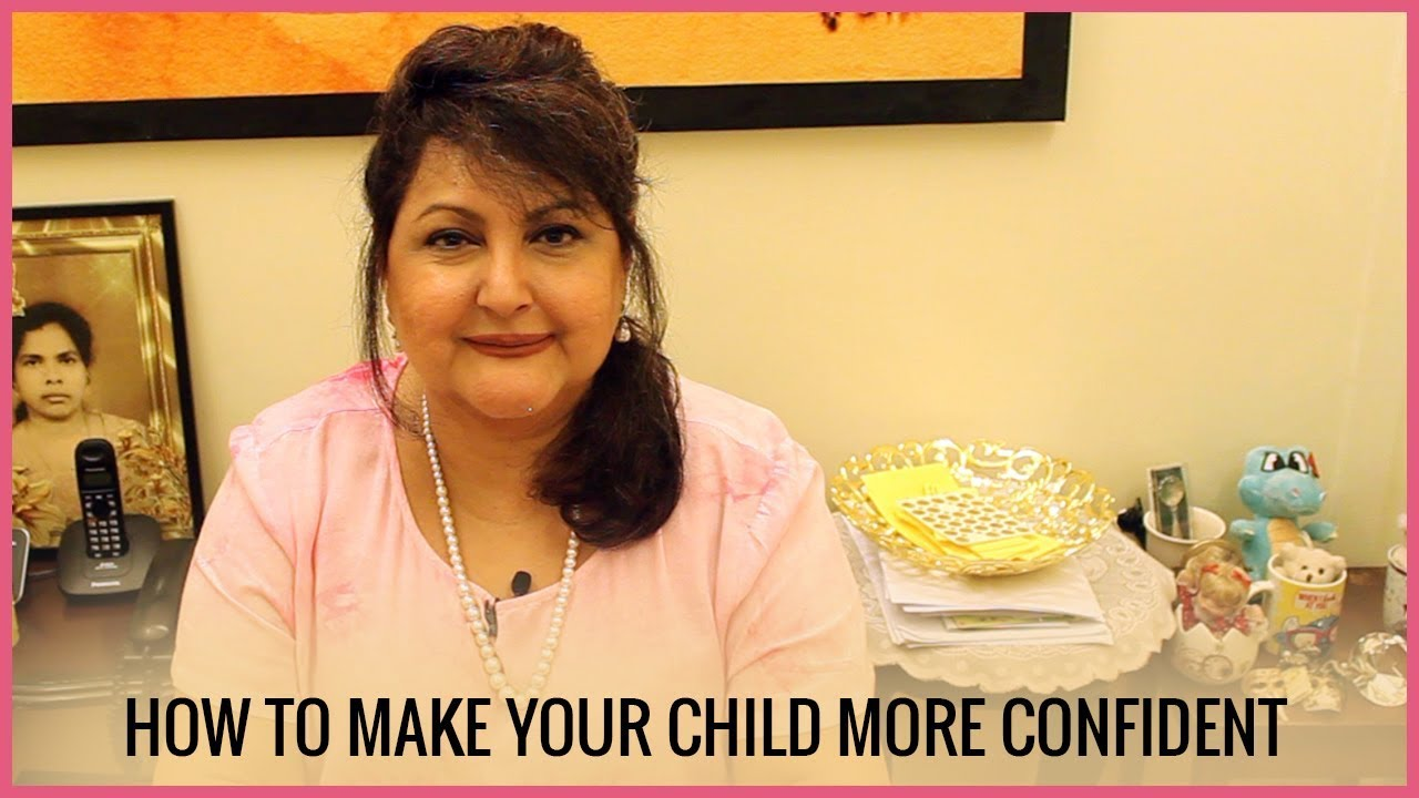 raell padamsee i how to make your child confident