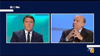 Referendum Si o No – Matteo Renzi vs Gustavo Zagrebelsky