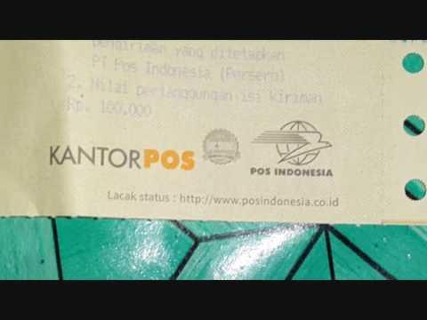 RESI PENGIRIMAN KANTOR POS/POSINDO