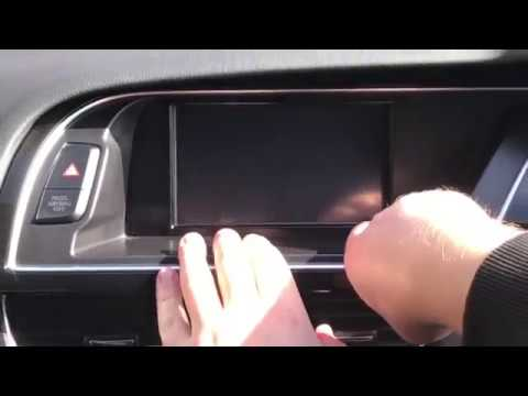 How To Fit A Touch Screen Overlay On Audi A4/A5/Q5