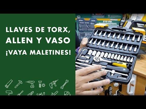 Llaves de TORX, ALLEN y VASO: Vaya Maletines!🚀🚀