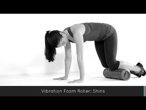 Gladiator Vibration Foam Roller: Shins