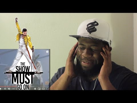 """Queen - """"The Show Must Go On"""" (Official Video) Reaction"""