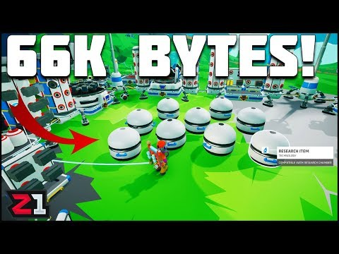 66,000 BYTES ! Activating Gateways on Glacio and Atrox!  Astroneer Summer Update Ep 9 | Z1 Gaming