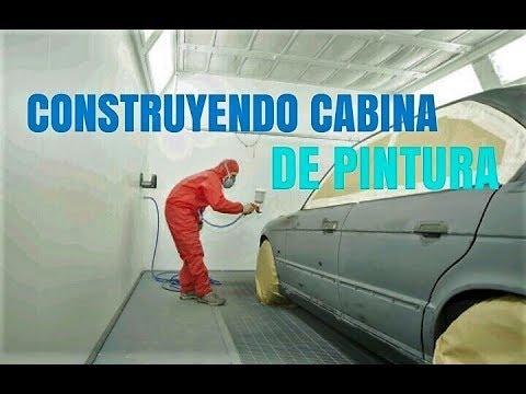 CONSTRUCCION DE CABINA DE PINTURA ¨PRIMERA ETAPA¨