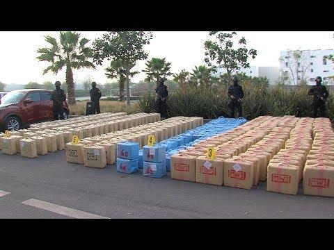 العرب اليوم - شاهد: الجهات الأمنية تنجح في حجز نحو 10 أطنان من مخدر الحشيش