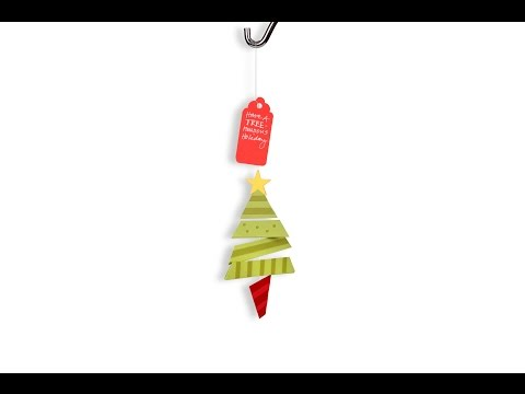 Ellison Education Series: Get Holiday Decorating With This Triangle Tree Mobile!