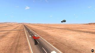 BeamNG Drive Record - Stunt - Long Jump #2