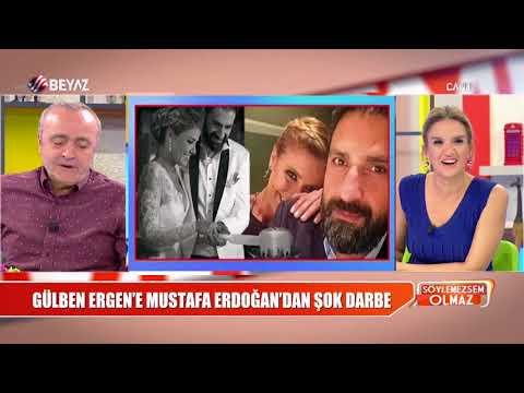 Gülben Ergen e bir şok da Mustafa Erdoğan dan