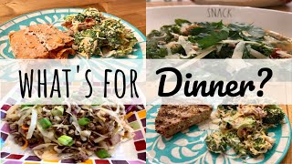 WHAT'S FOR DINNER? | EASY DINNER IDEAS + RECIPES | SIMPLE MEALS | LIVING IN THE MOM LANE