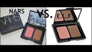 Dupes  Nars Blush/Bronzer Duo V.s. E.l.f. Duo//Rev