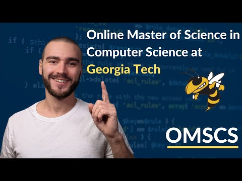 How I got a Master's in Computer Science online from Georgia Tech