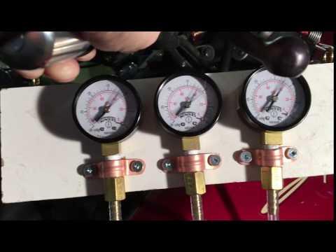 DIY carburetor synchronization Triumph Sprint 900