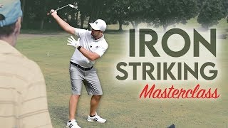 Golf Iron Striking Masterclass!