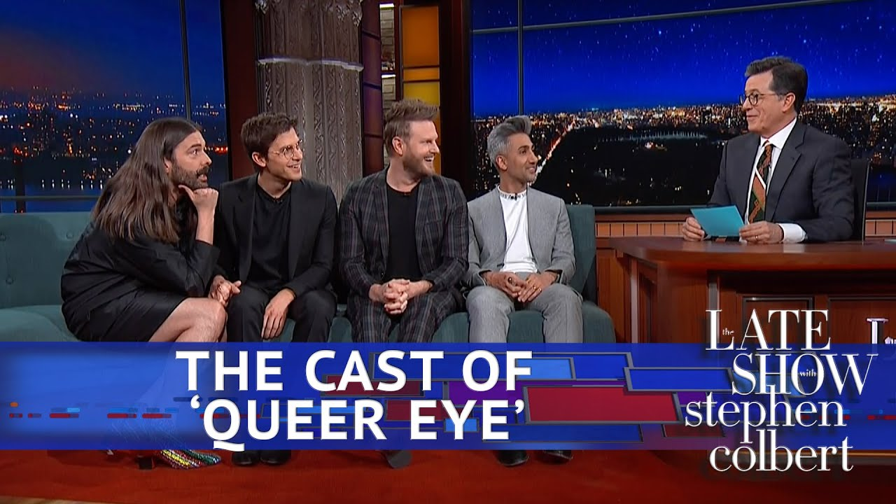 Rapid Fire Questions For The 'Queer Eye' Guys thumbnail