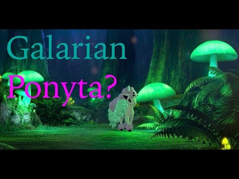 Galarian Ponyta Revealed