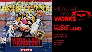 Virtual Boy Wario Land retrospective: Red-blooded WAAAAH-man | Virtual Boy Works #08