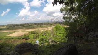 preview picture of video 'View from Kampot cave, Cambodia'