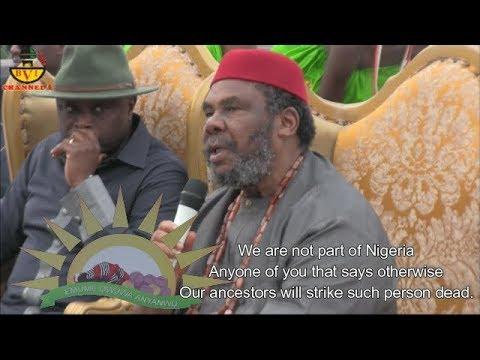 Emume Owuwa Anyanwu - Feast Of Rising Sun - Pet Edochie Speaks