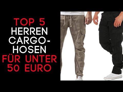 Cargohose Herren/ Herren Cargohose günstige Hosen!   Die TOP 5 auf Amazon für unter 50 €