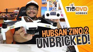 DRONE HUBSAN ZINO 2 UNBRICKED ATUALIZAÇÃO DE FIRMWARE UPDATE C/ PC DESTRAVANDO BRICKED BRICK TRAVADO