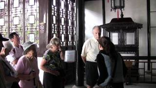 Video : China : A trip to the Gardens of SuZhou 苏州 old town, JiangSu province