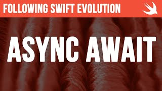 First look at async await - #Swift #Concurrency