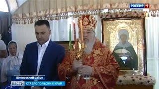 Крестный ход с мощами святой Матроны прошел в Михайловске. Вести, Ставропольский край