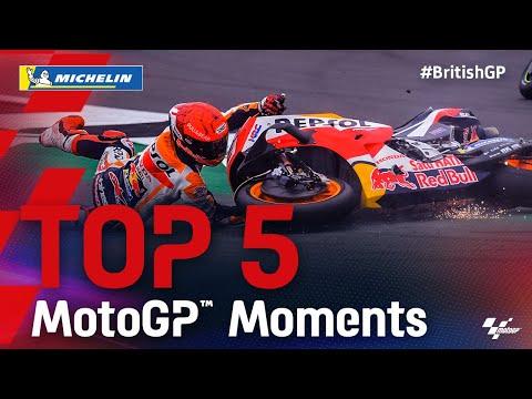 MotoGP 2021 第12戦イギリス 決勝レースハイライト動画