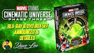 MARVEL CINEMATIC UNIVERSE: PHASE 3, PART 1 -Blu-ray, DVD Box Set Announced & Detailed