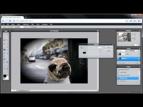 Pixlr Tutorial: Add Layer Mask Tool