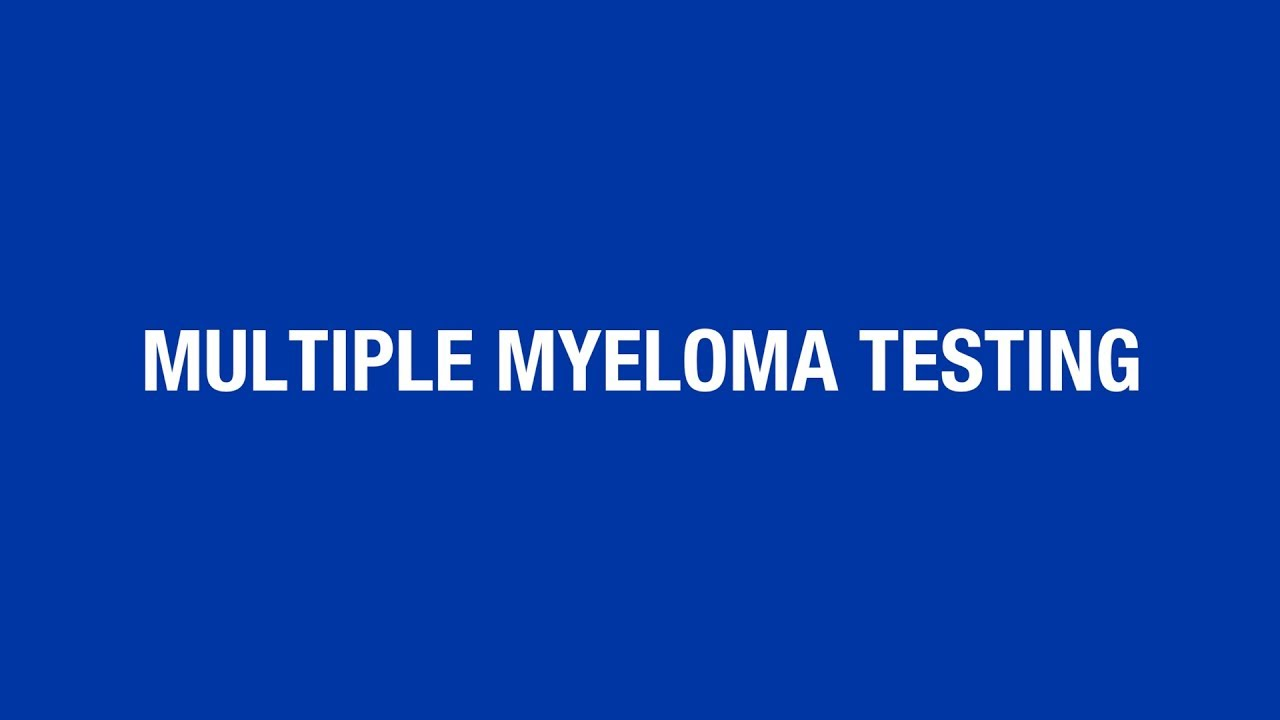 Multiple myeloma lab values