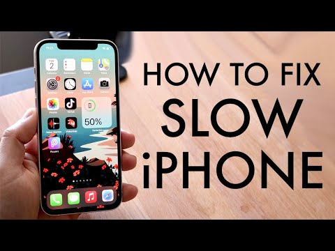 How To Speed Up a Slow iPhone! (2021)