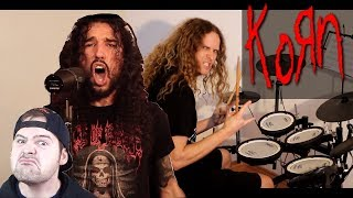 Jared Dines & Ten Second Songs - 10 songs in KORN style - drum cover