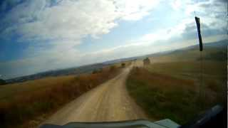 preview picture of video 'Registro Italiano Land Rover. Montalcino 2012 Raduno Land Rover'