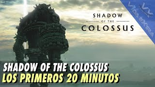 Shadow Of The Colossus - Los primeros 20 minutos de juego