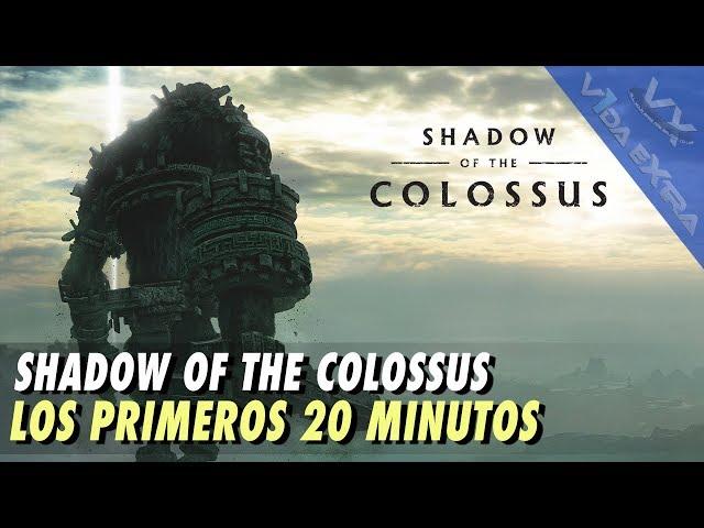 Shadow Of The Colossus - Los primeros 20 minutos de juego
