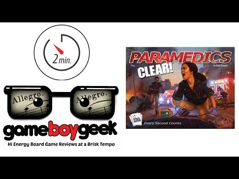 The Game Boy Geek's Allegro (2-min) Review of Paramedics: Clear!