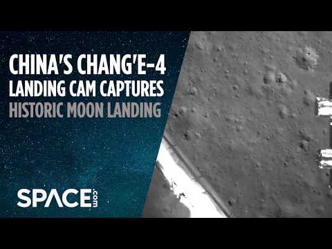 Download China's Historic Moon Landing Captured by Probe's Camera HD Mp4 3GP Video and MP3