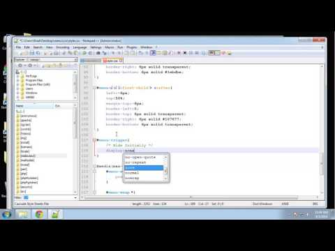 Learn HTML5 and CSS3 | Create Transition Dropdown Menu | Menu Responsive CSS | Eduonix - Part 5